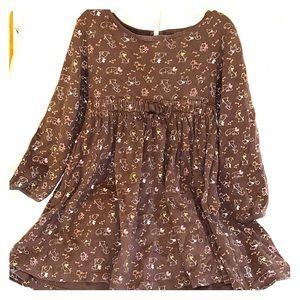 GYMBOREE girls dress and leggings sz5 5t EUC